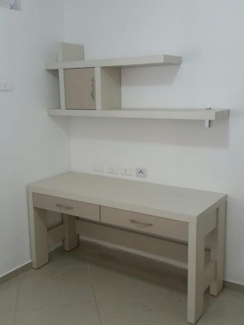 שולחן כתיבה משולב 2 מגירות